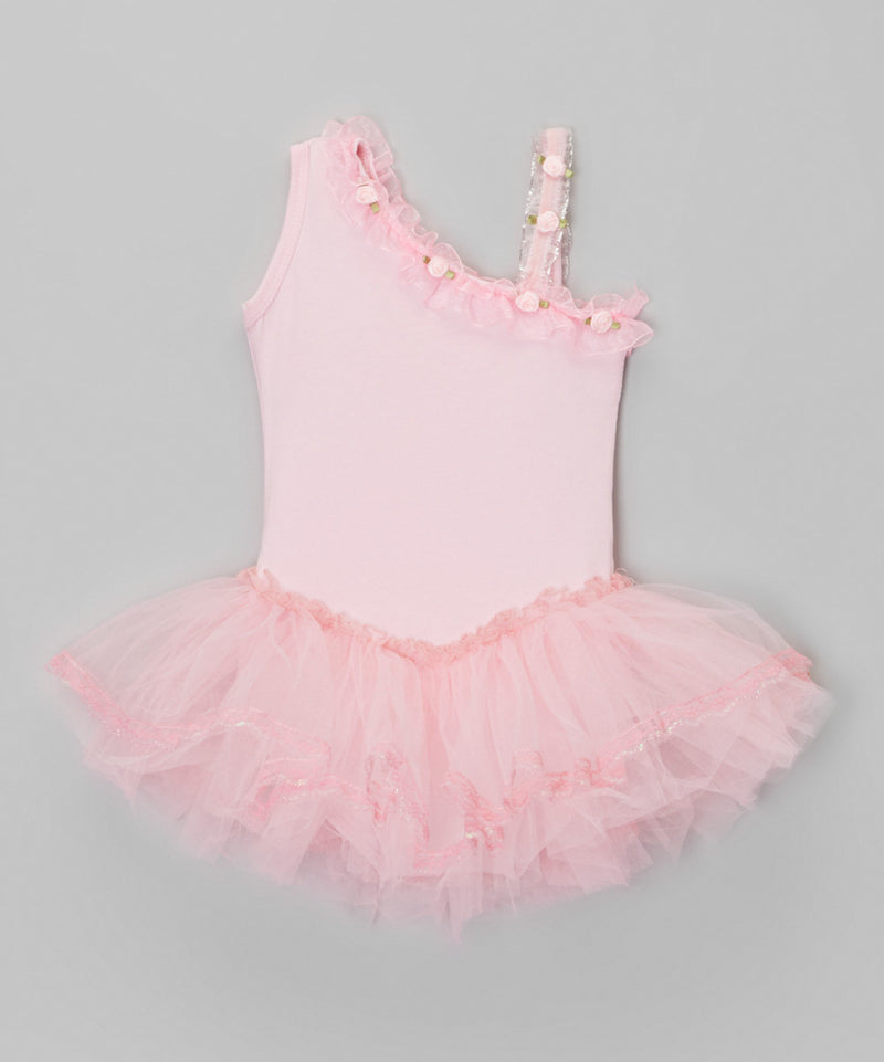 Pink Asymmetrical Ballet Dress