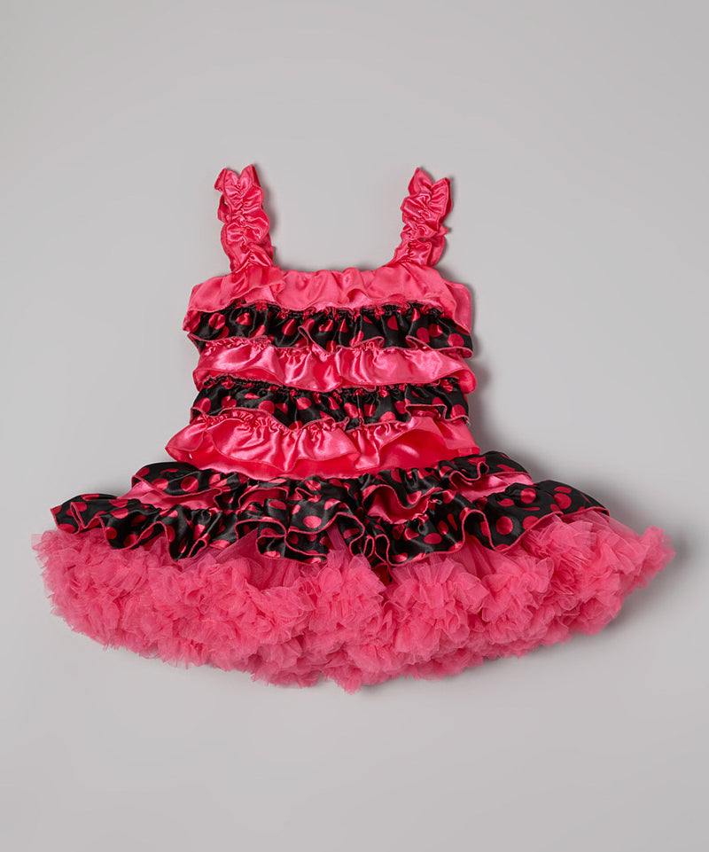 Hot Pink Ruffles Cupcake Dress