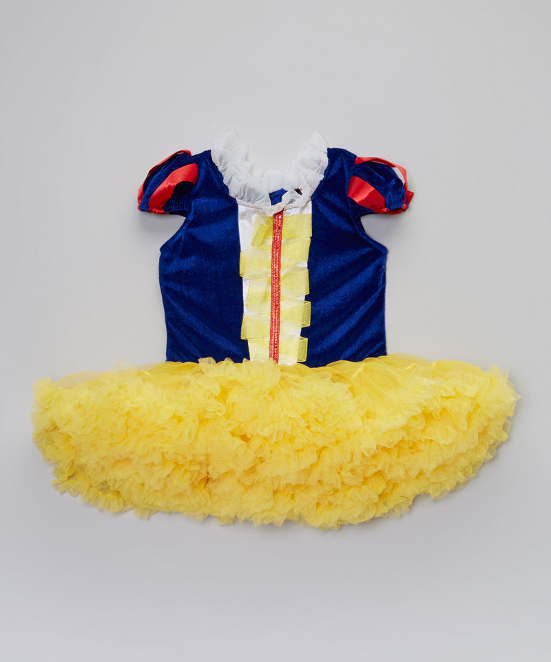Snow White Fluffy Dress