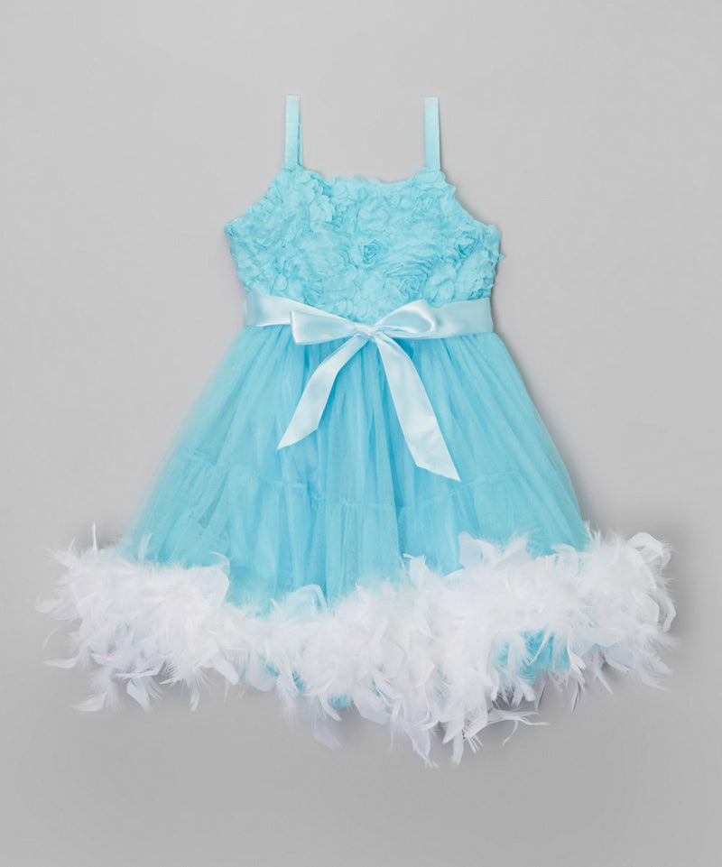 Frozen Feather Dress