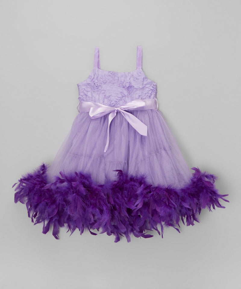 Sophia The First Feather Dress