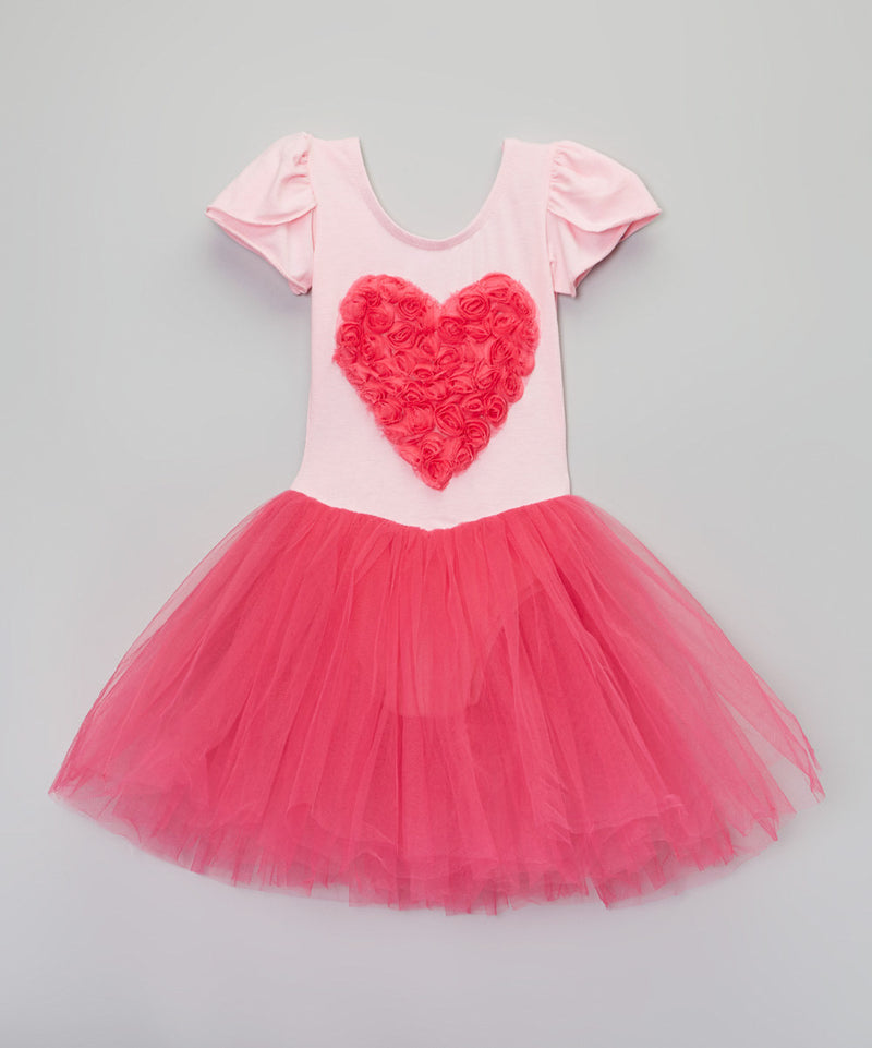 Pink/Fuchsia Heart Ballet Dress
