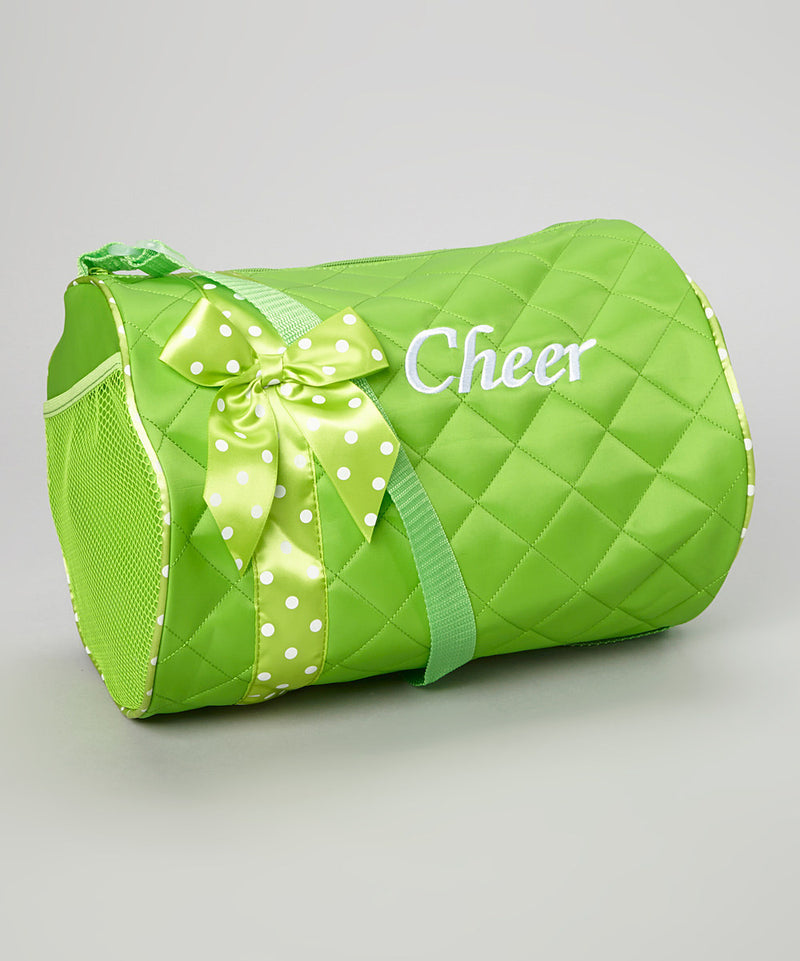 Green Cheer Duffel