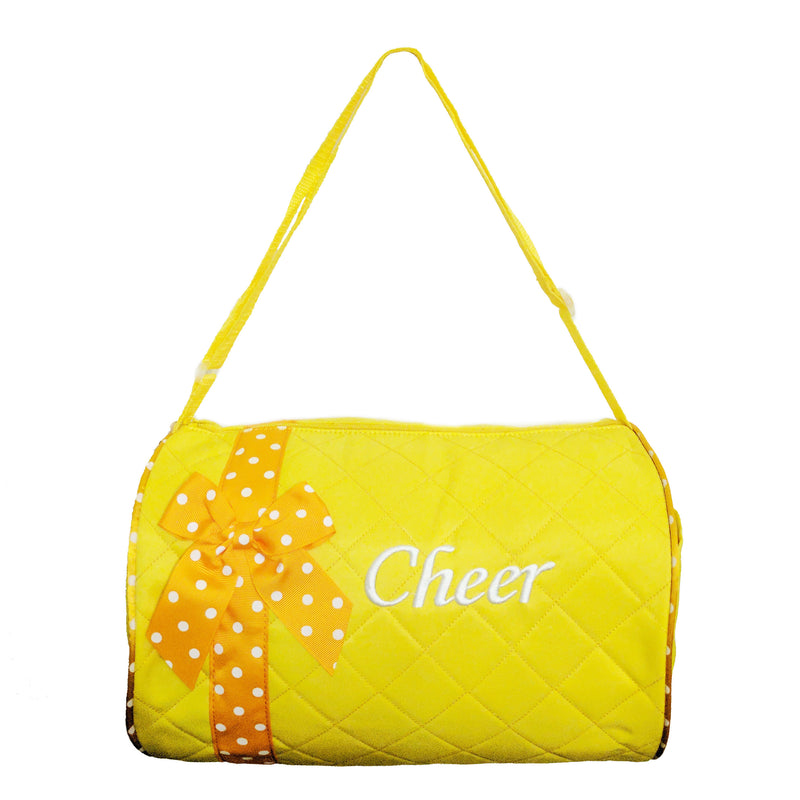 Yellow Cheer Duffel