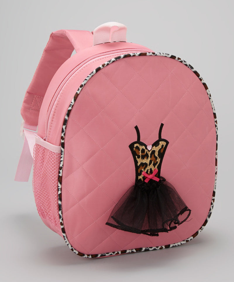 Pink Back Pack With Cheetah Tutu