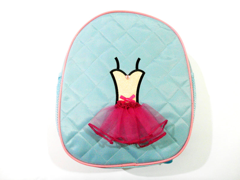 Blue Back Pack With Dance Tutu