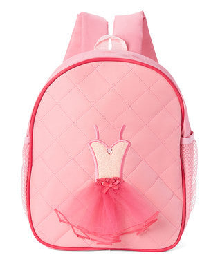 Pink Back Pack With Dance Tutu