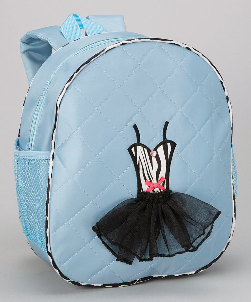 Pink Back Pack With Zebra Tutu