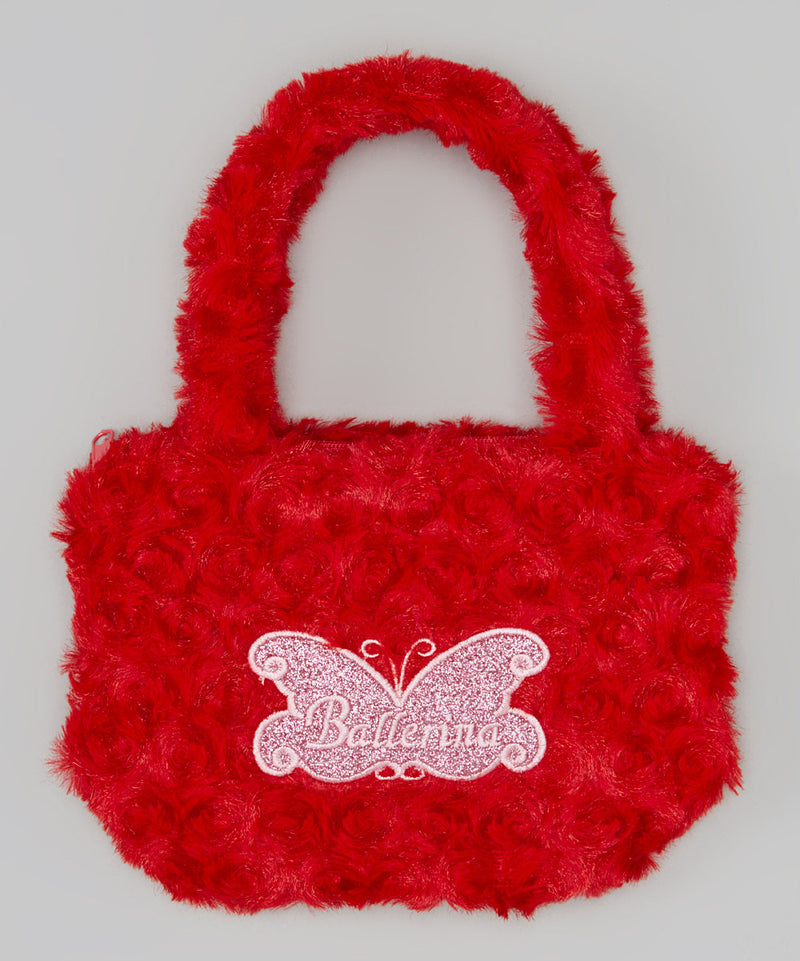 Red Ballerina Velvet Purse