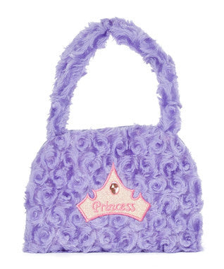 Purple Princess Velvet Purse