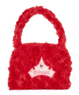 Red Princess Velvet Purse