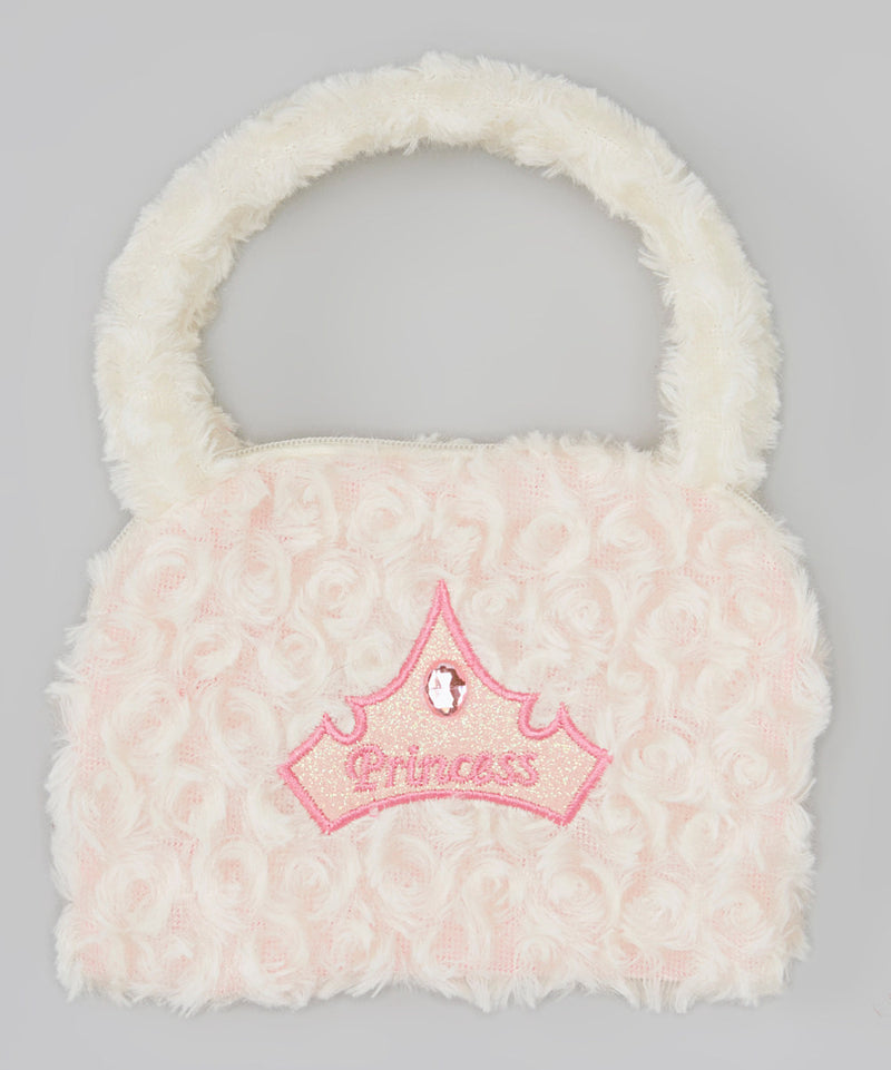 White Princess Velvet Purse