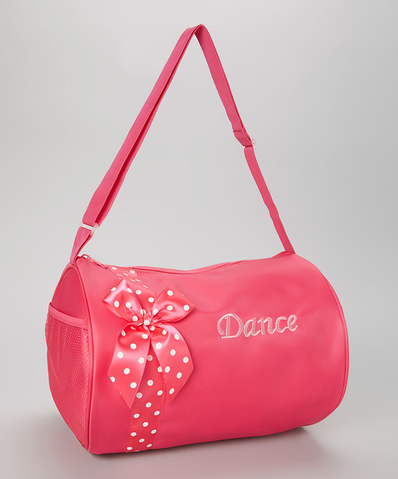 Hot Pink Bow Hot Pink Dance Bag