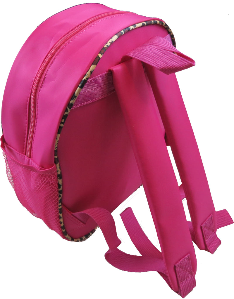 Hot Pink Back Pack With Leopard Tutu