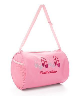 "Pink ""Ballerina"" 4 Pair Shoes Duffel"