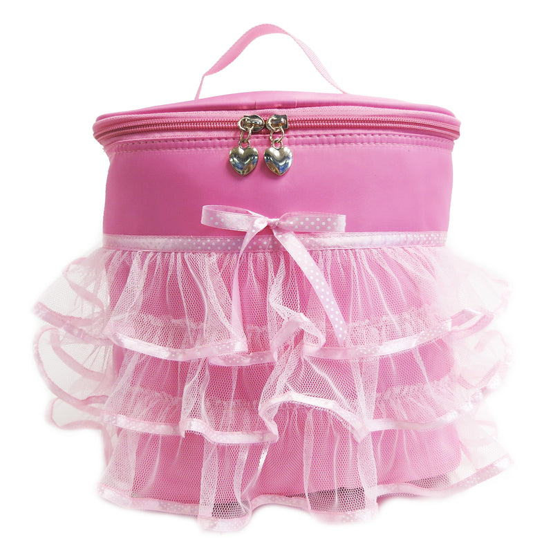 Pink Back Pack With Tutu Decoration