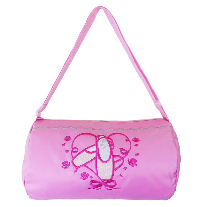 Pink Ballet Shoes Rose Duffel