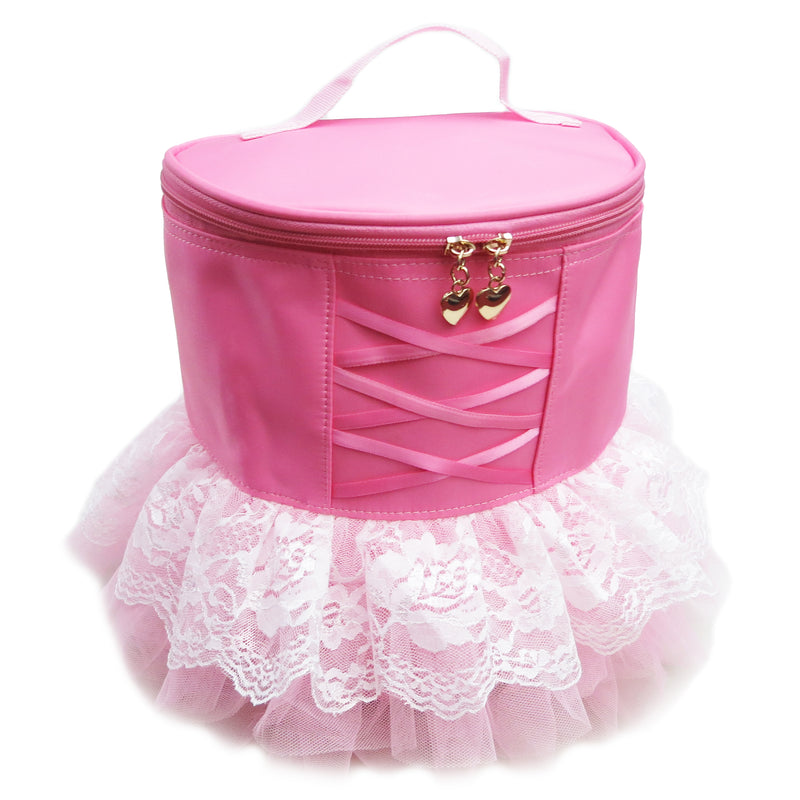 Lace Tutu Trim Pink Back Pack