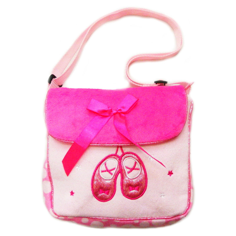 Hot Pink Ballet Shoe Bag