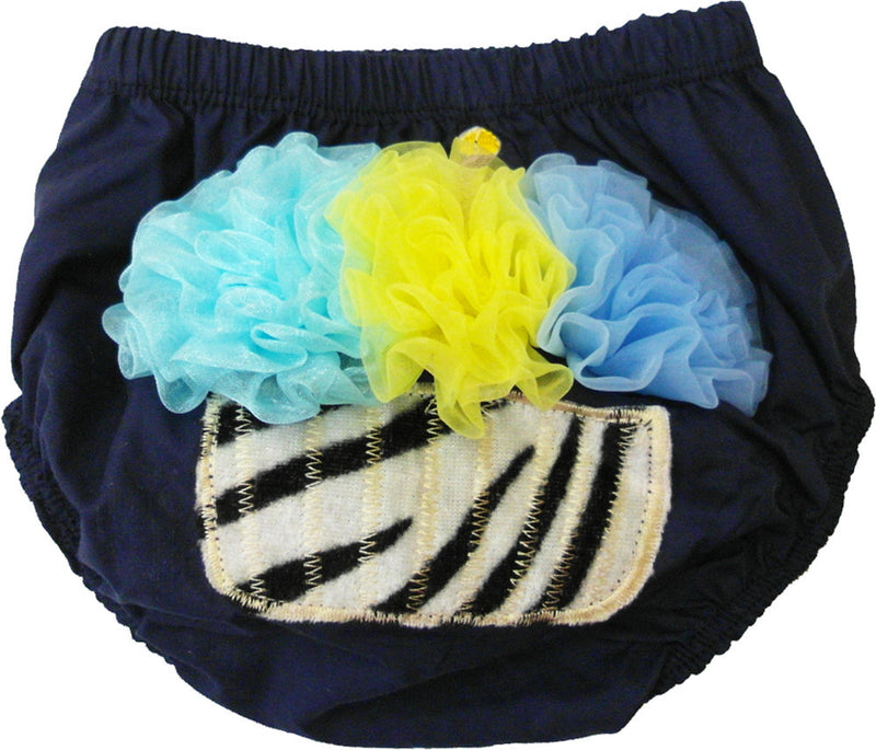 Cupcake Navy Blue  Bloomer