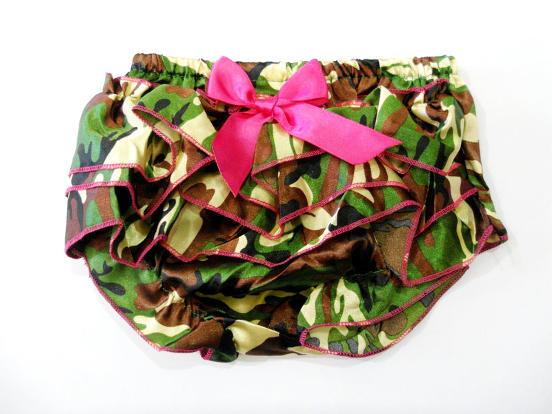 Camo Satin Bloomer