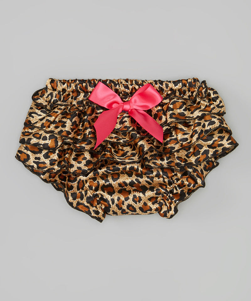 Leopard Satin Bloomer