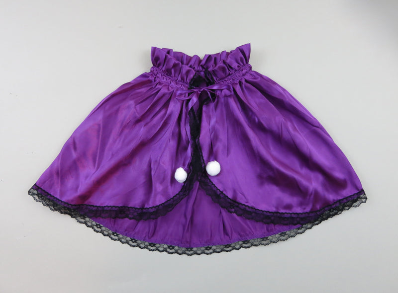 Purple Short Cape