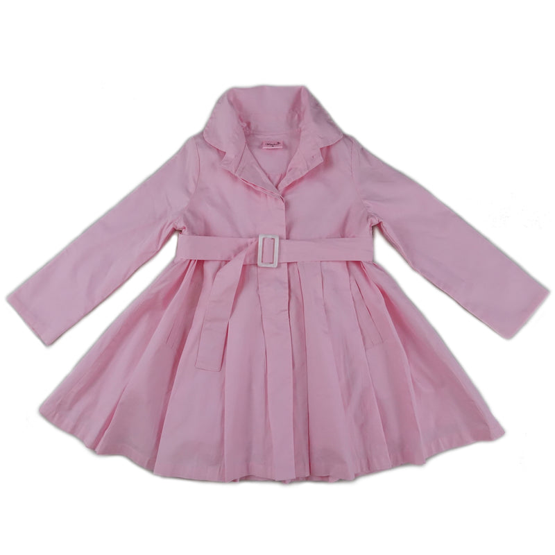 Pink Crease Wind-Resistant Coat