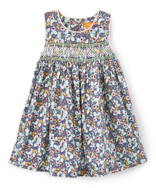 Floral Baby Doll Cotton Dress