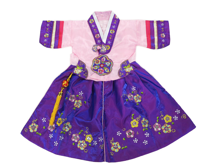 Pink/Purple Korean Robe Style Dress