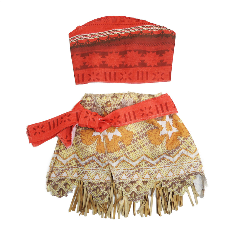 Moana Dress 2 pieces