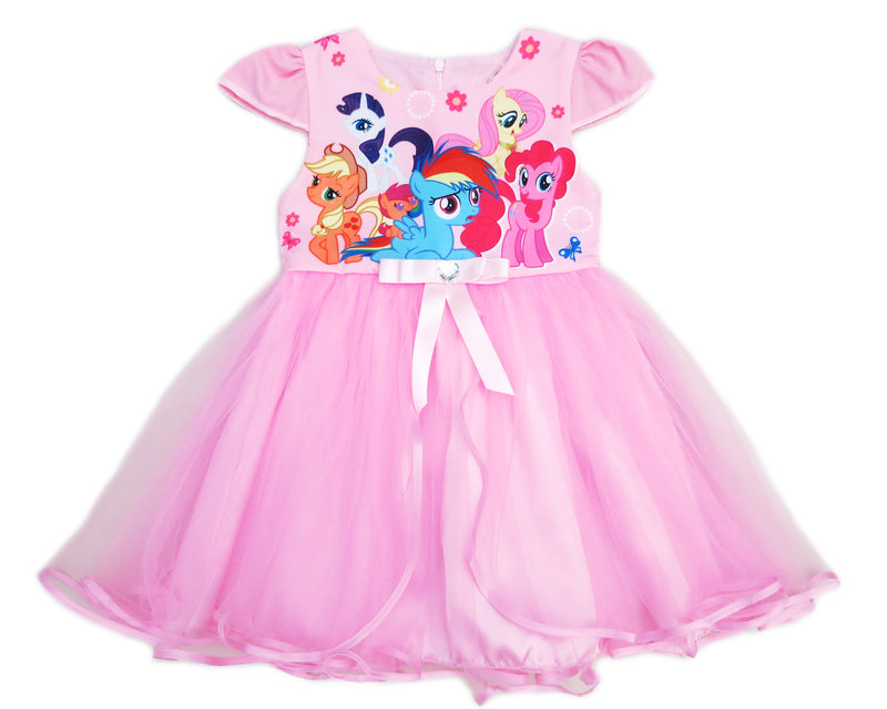 Pink My Little Pony Friends Tulle Dress