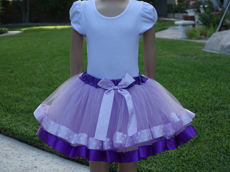 Lavender Sofia The First Tutu Skirt