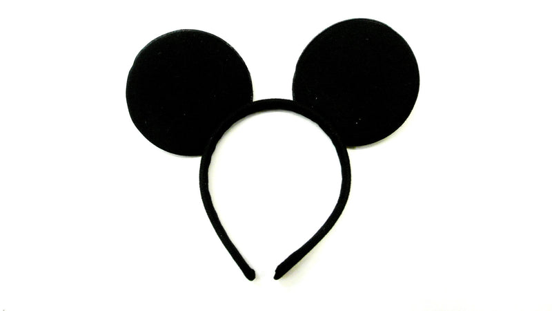 Black  Ear Headband (Pack 12pcs)