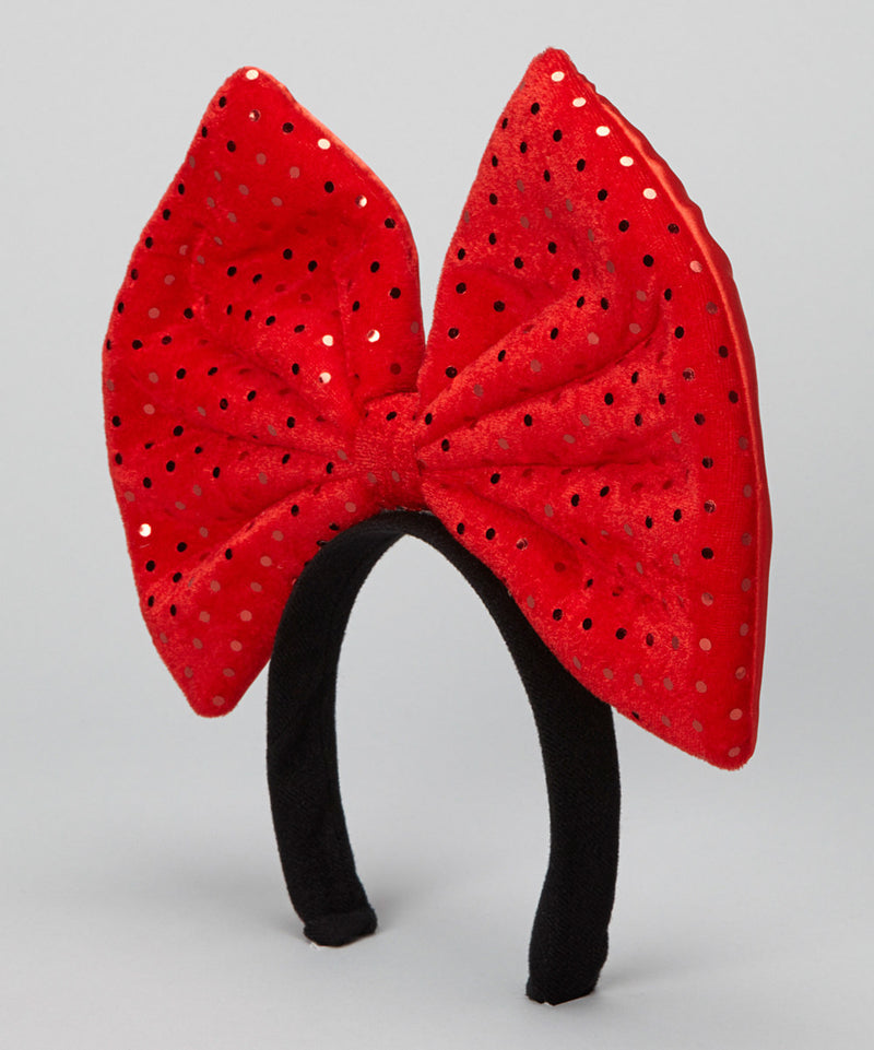 Red Glitter Giant Bow