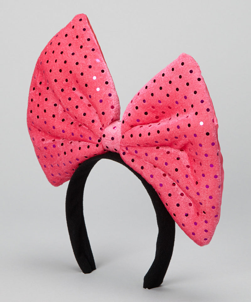 Hot Pink Glitter Giant Bow