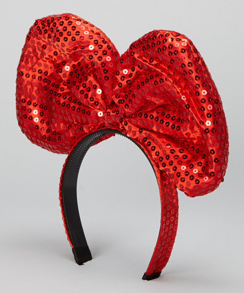 Red Sequin Giant Bow