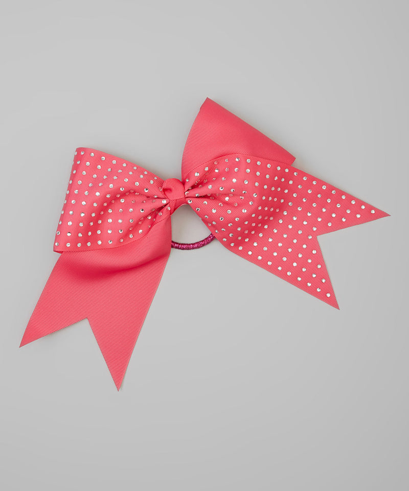 Hot Pink Glitter  Big Bows