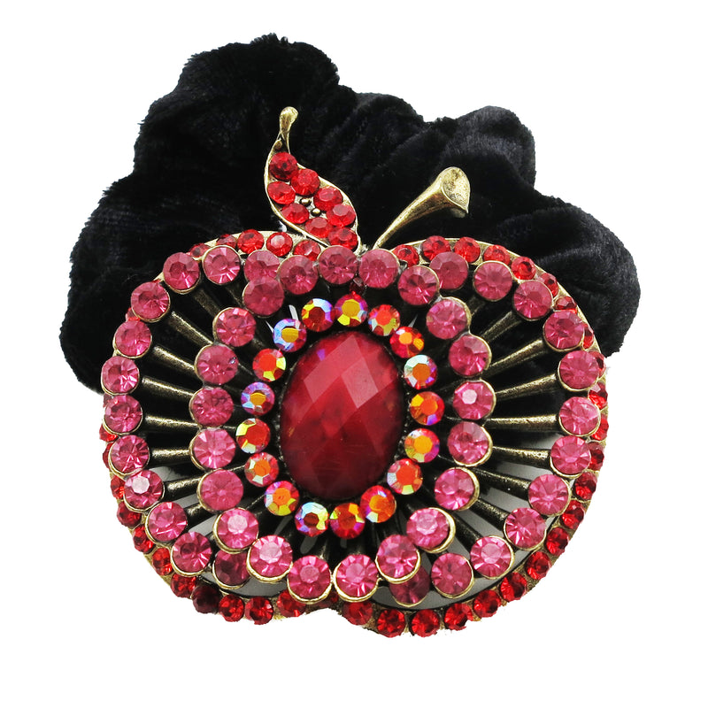 Colors Rhinestone Apple Donut Hairband