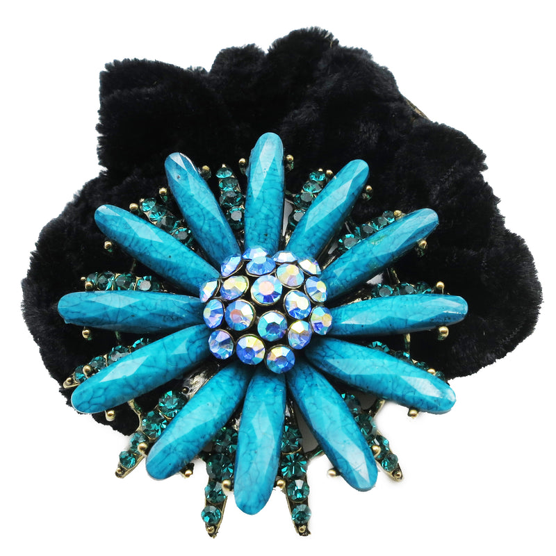 Colors Rhinestone Daisy Donut Hairband
