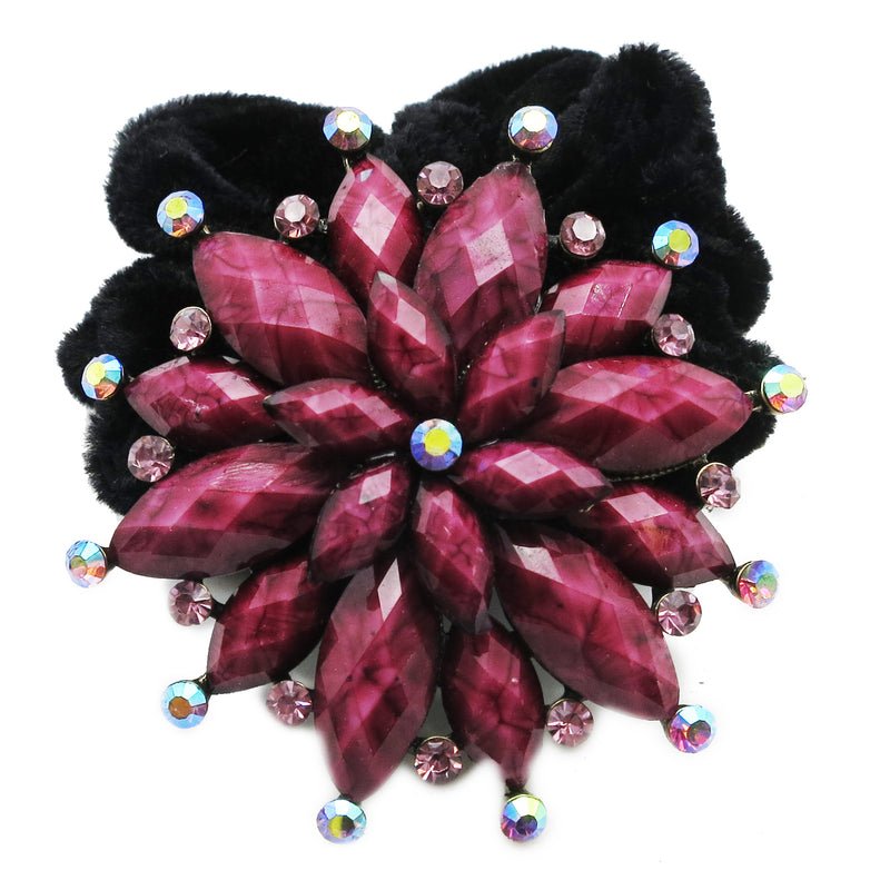Colors Rhinestone Marigold Donut Hairband