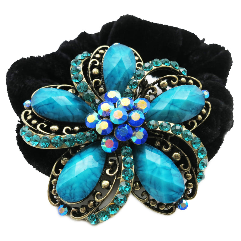 Colors Rhinestone Moonbean Donut Hairband