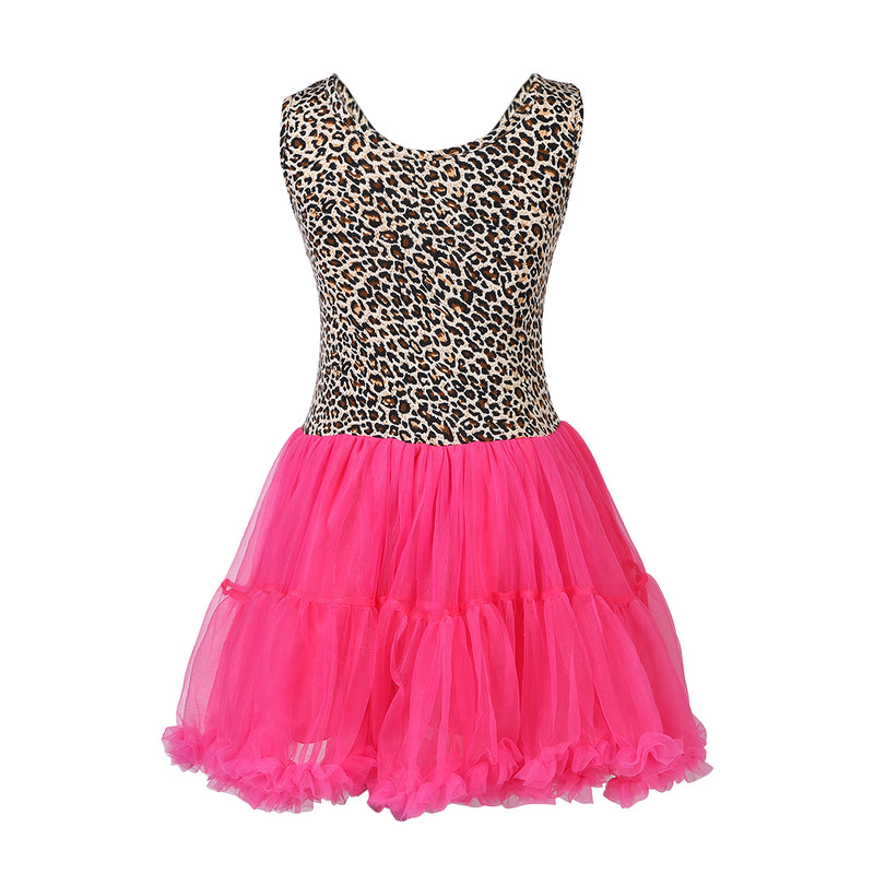 Leopard Hot Pink Dress