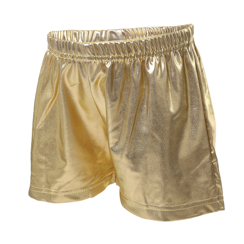 Gold Shorts For Dance/Gymnastic/Swimming