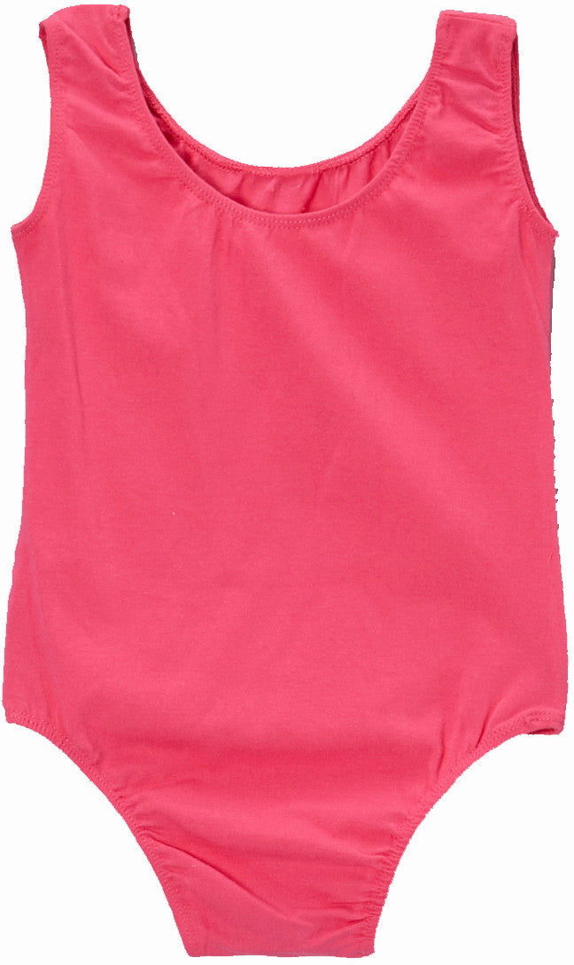 Hot Pink Tank  Leotard