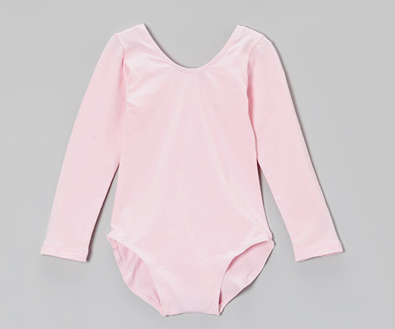 Pink Long Sleeve  Leotard