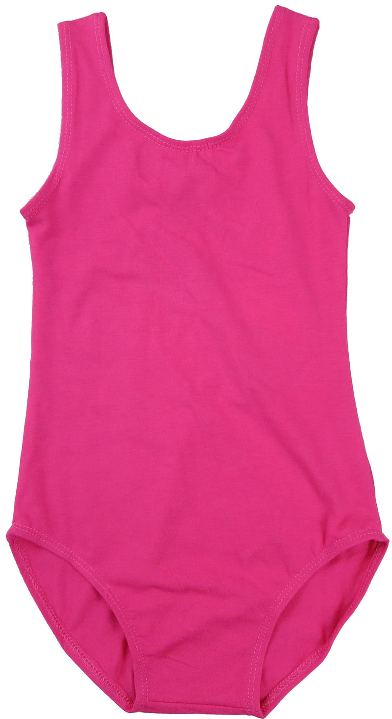 Hot Pink Bow Tank Top Leotard