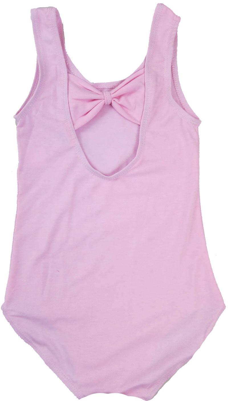 Pink Bow Tank Top Leotard