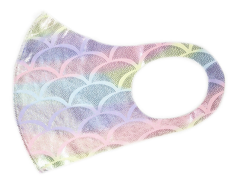Rainbow Fish Scale Washable Mask