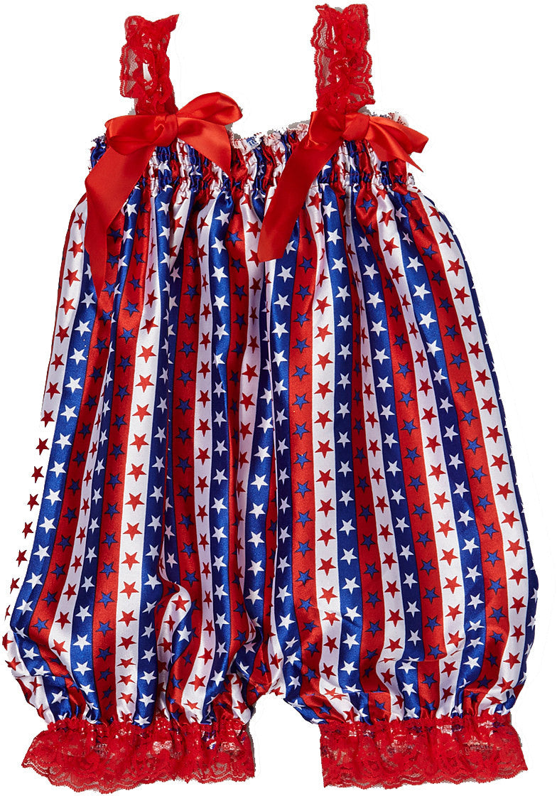 July 4Th Bubble Romper